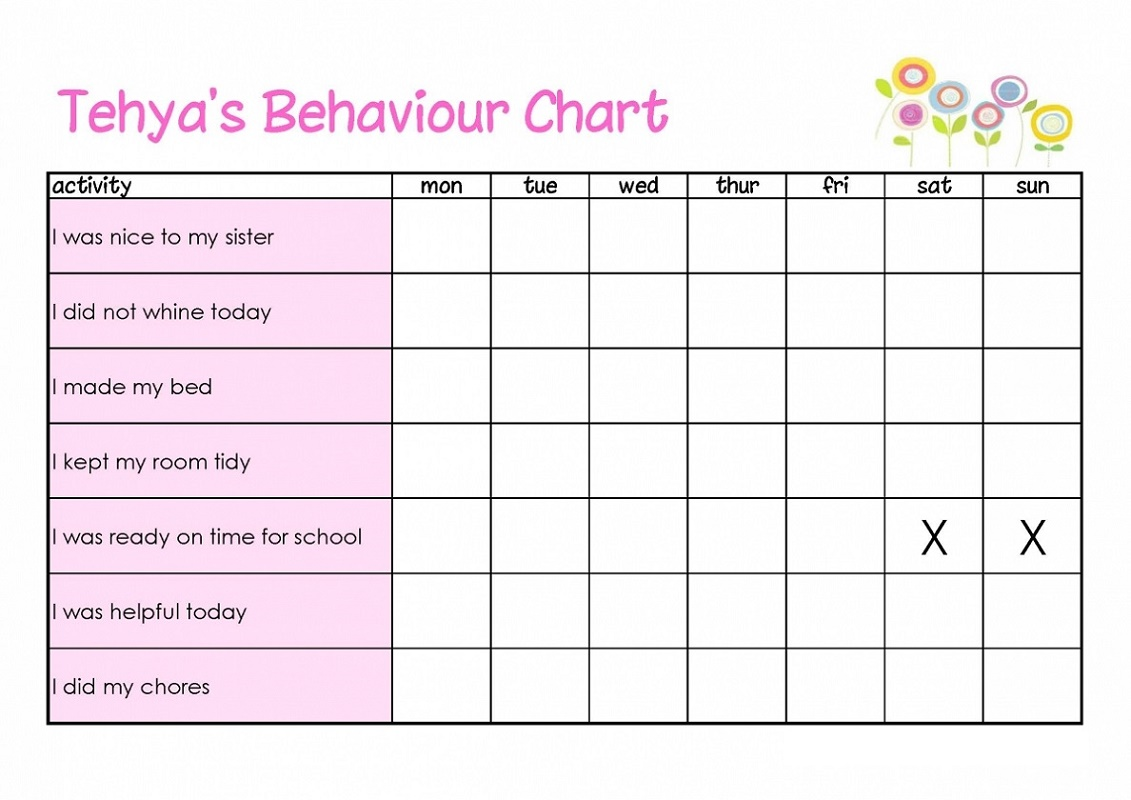Make Your Own Reward Chart