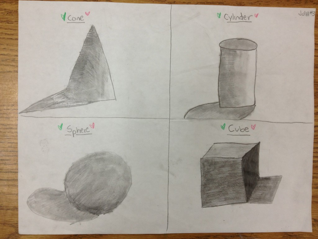 Drawing And Shading Forms
