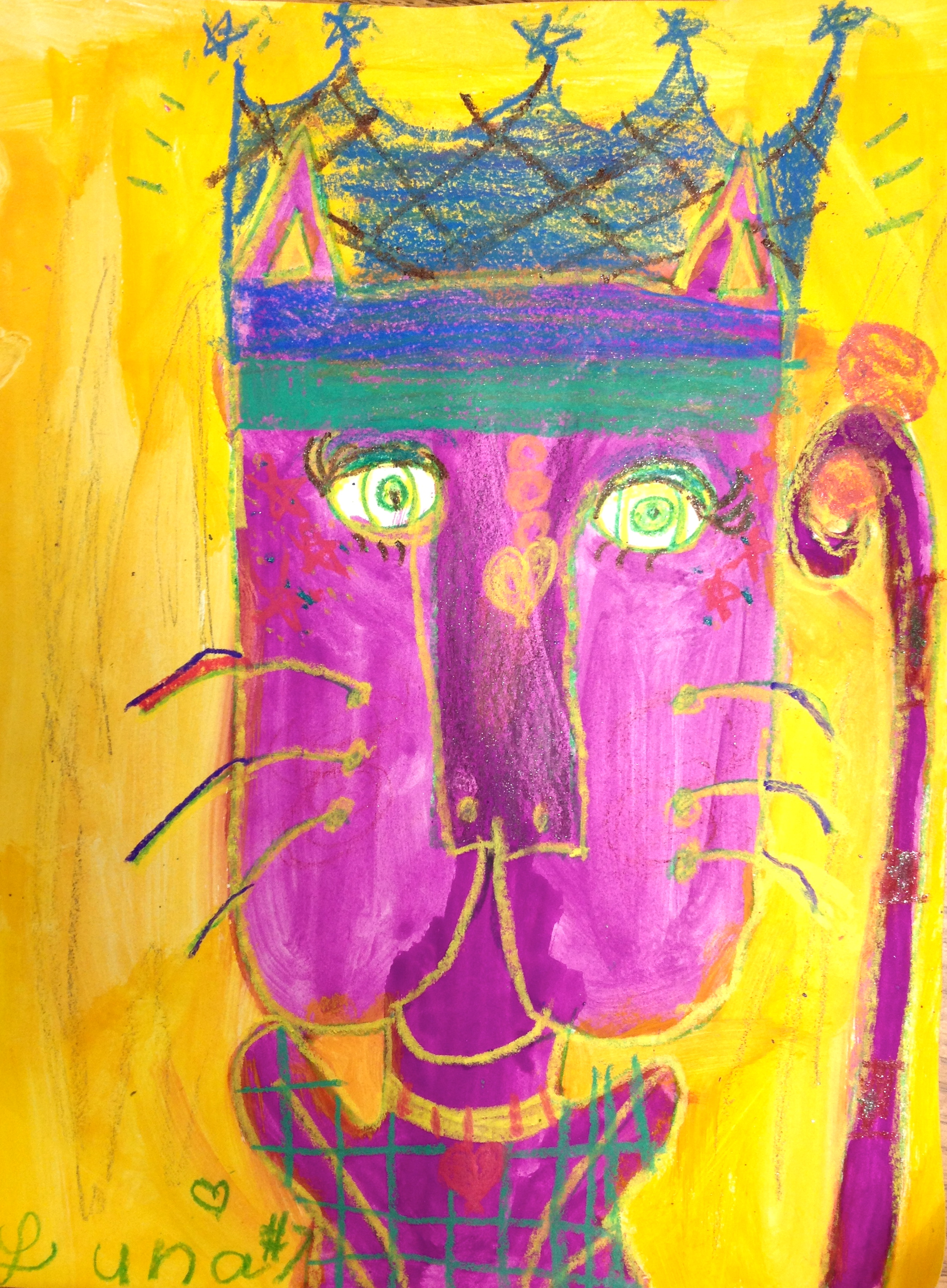 92 Complementary Colors Art Project