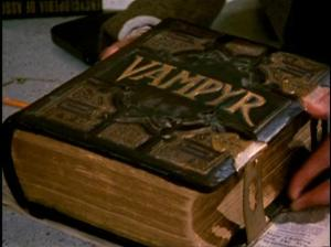 Vampyr, a book which does not actually exist.