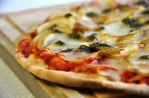 Pizza. Picture by cyclonebill, Creative Commons License