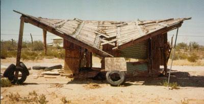 derelict structure
