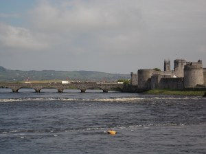 King John's Castle, on the River Shannon.