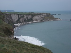 More of the Antrim coast,  as viewed on the way back to the parking lot