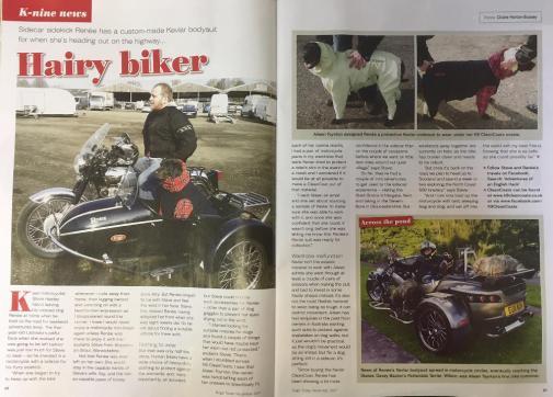 Hairy Biker article