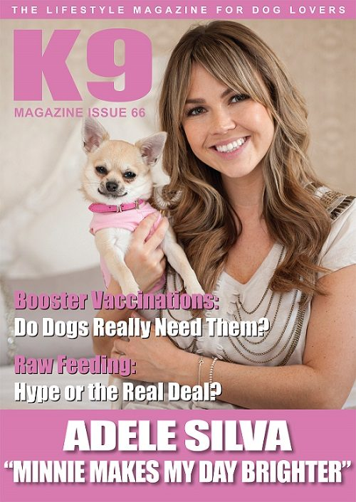K9 Magazine Issue 66 Cover - Adele Silva & Minnie