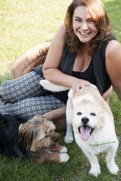 Nicole Barber-Lane Teddy and Sam K9