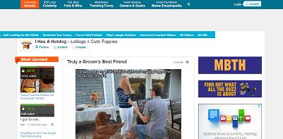 I Has A Hotdog home page