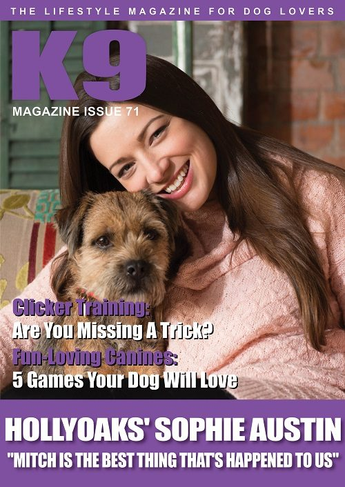 K9 Magazine Issue 71 Cover - Sophie Austin and Mitch - web