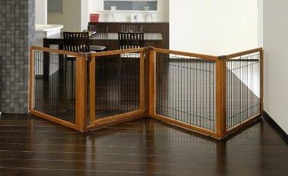 indoor retractable dog gate