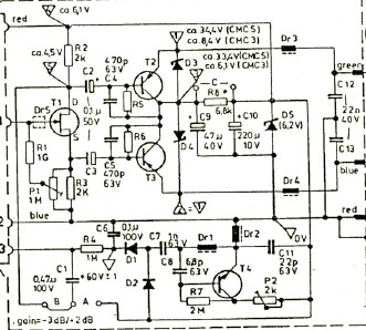 Old: A Direct-Coupled Input-Capacitorless Active Mic