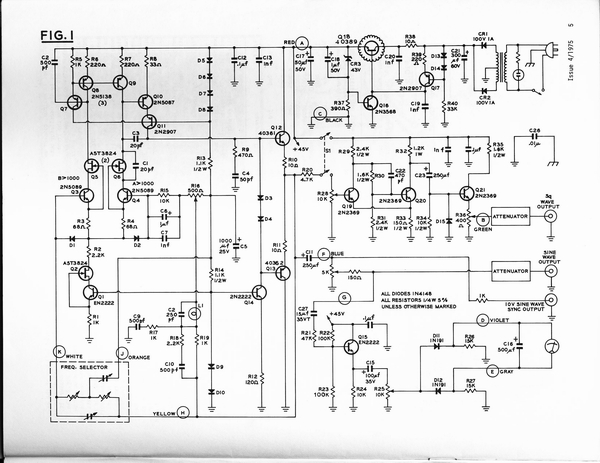 Morrey's Super Oscillator Heathkit IG-18 Modification