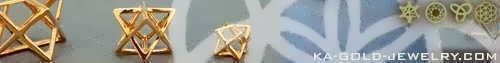 Ka Gold Jewelry - Merkaba Jewelry
