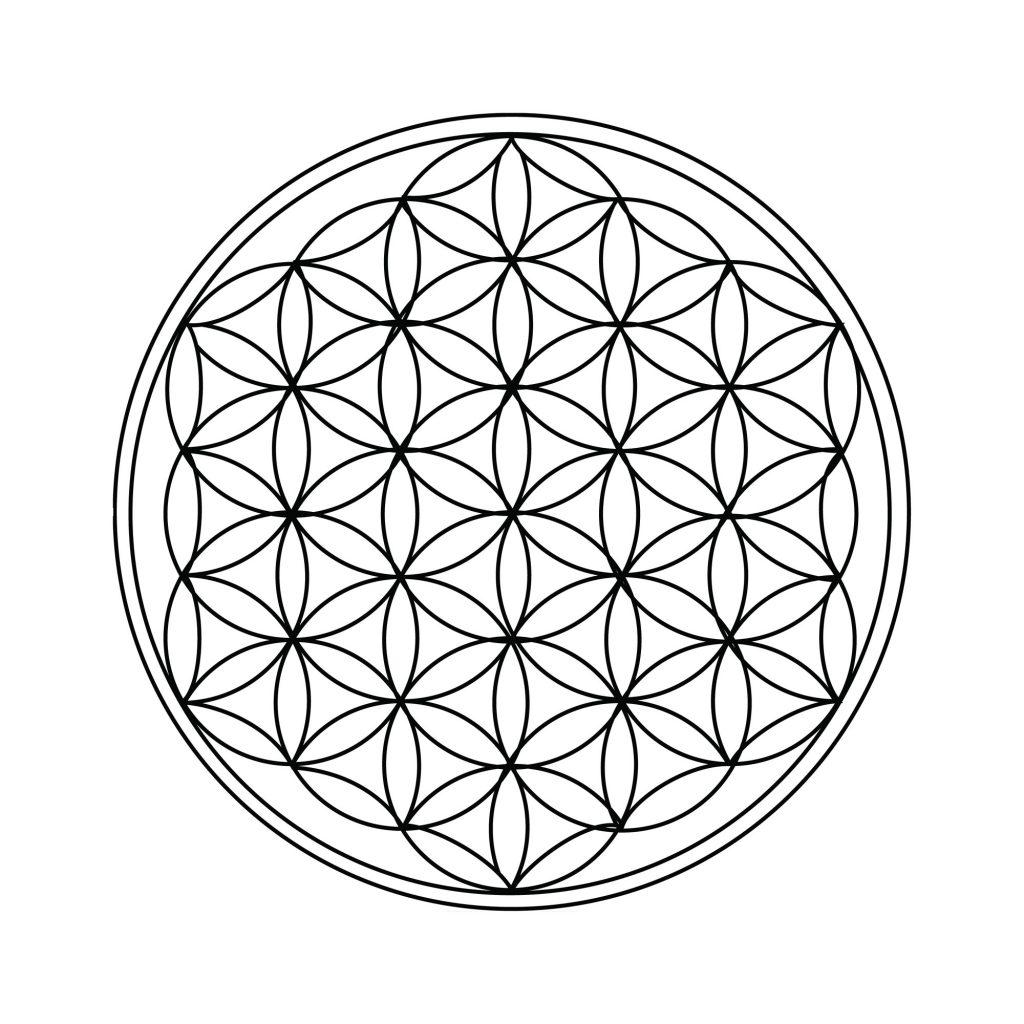Metatrons Cube Spiritual Awakening Sacred Geometry Tattoo