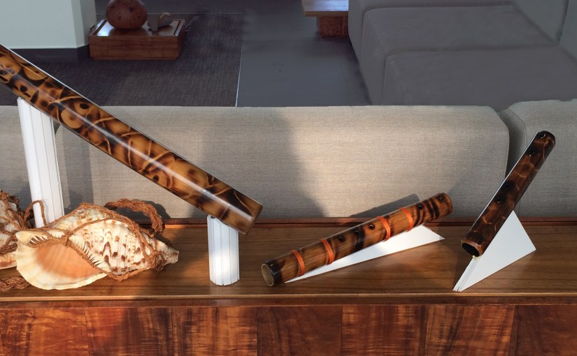 Shell and Bamboo Instruments