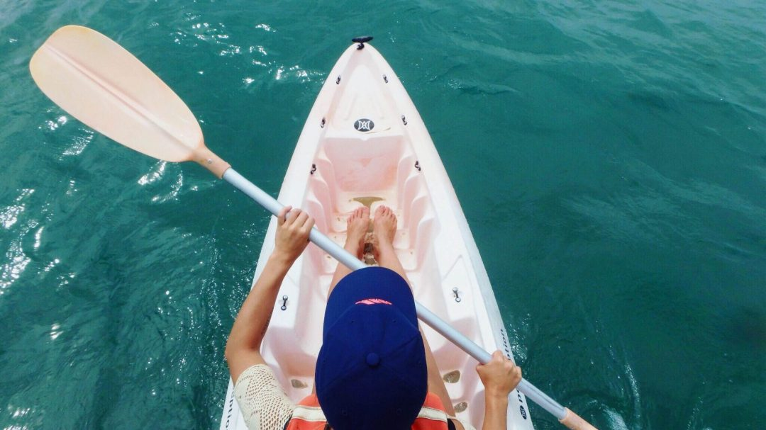 road trip en van - Australie - Hervey Bay - kayak
