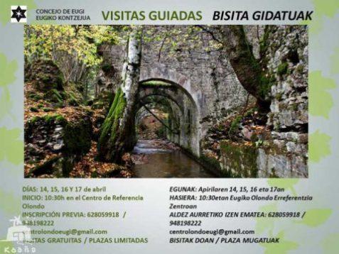 Fábrica armas Eugui - visita gratis para esta Semana Santa, organizada por el Concejo de Eugui y el centro de referencia Olondo
