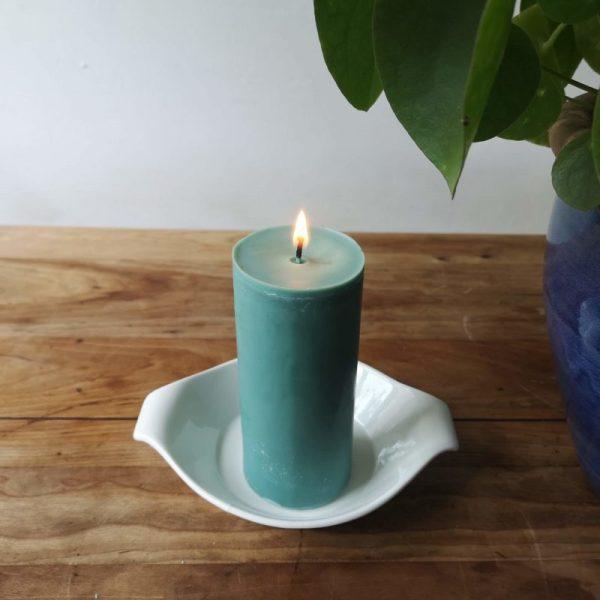 Stompkaars koolzaadwas, groen, 6.5 x 15 cm
