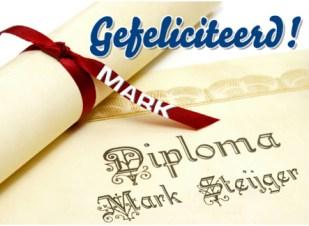 Diploma teksten