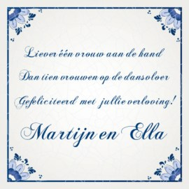 Tekst Kaartje Verloving Verlovingsteksten En Kaartjes