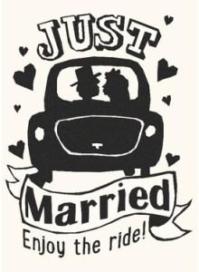 Tekst kaartje trouwen