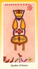 Speaker of Stones, Shining Tribe Tarot