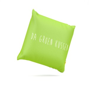 da groen kussen