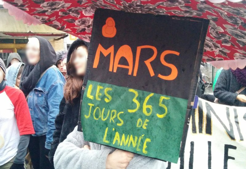 8 Mars 2017-Manifestation-Brussel