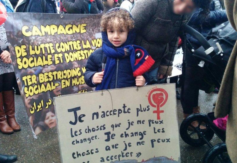 8 Mars 2017-Manifestation-Brussel