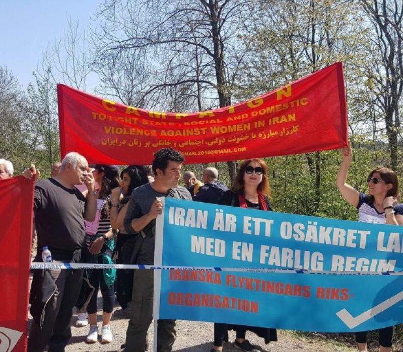 اعتراض به انتخابات ایران-اردیبهشت 1396-سوئد