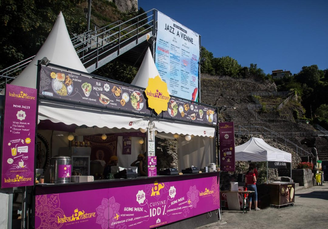 Kaba Nature services festival jazz Vienne