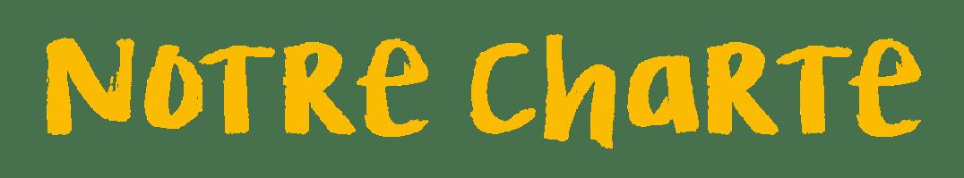 Charte Engagements titre