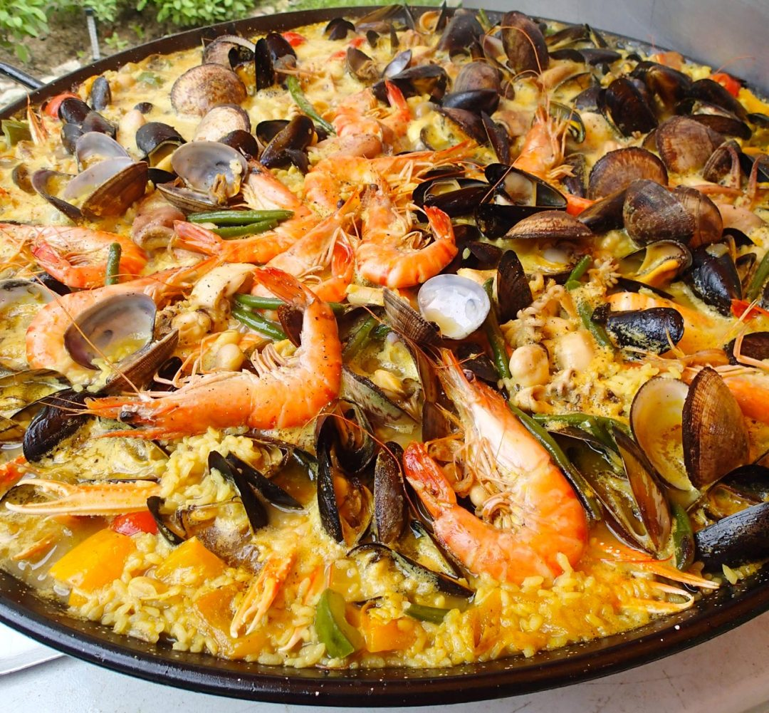 Kaba Nature Andalousie paella fruits mer