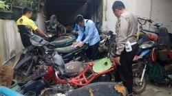 Bertahun-tahun Tak Diambil Pemiliknya, Puluhan Sepeda Motor Hasil Razia Diidentifikasi