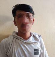 Nasib Apes Seorang Pemuda Diringkus Polisi Usai Nyolong HP di Dashbord Motor Beat