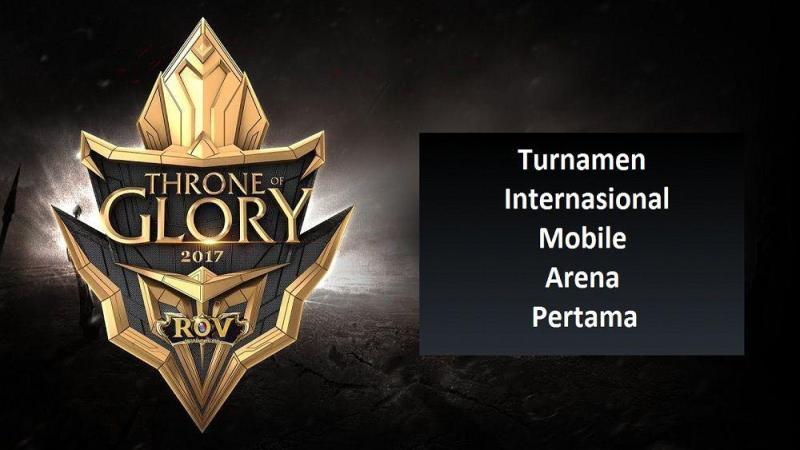 Turnamen Internasional Mobile Arena Pertama Sukses
