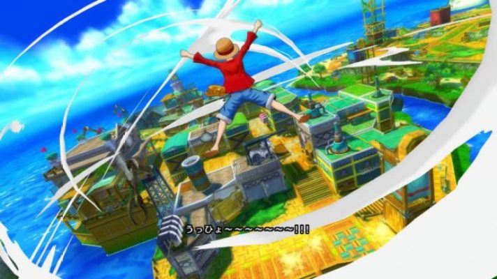 Gameplay One Piece Unlimited World Red Deluxe Edition