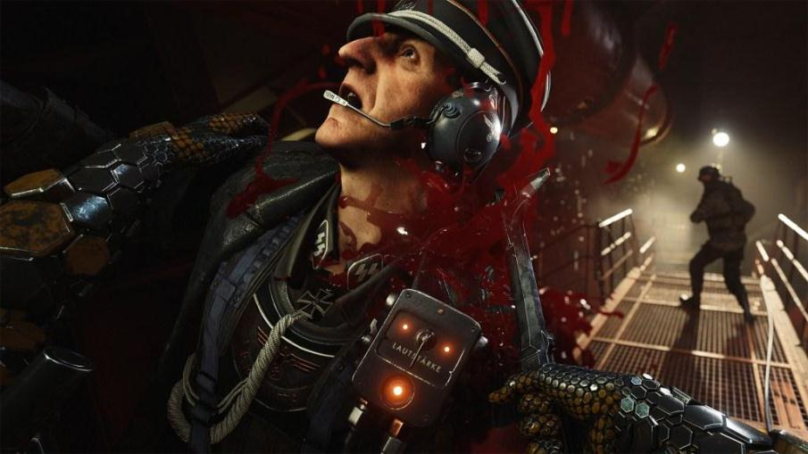 Pembunuhan Wolfenstein II The New Colossus