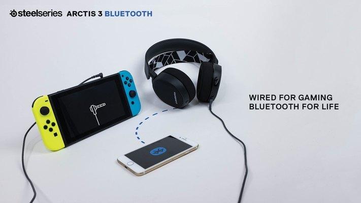 Arctis 3 Bluetooth, Headset Gaming Terbaru SteelSeries