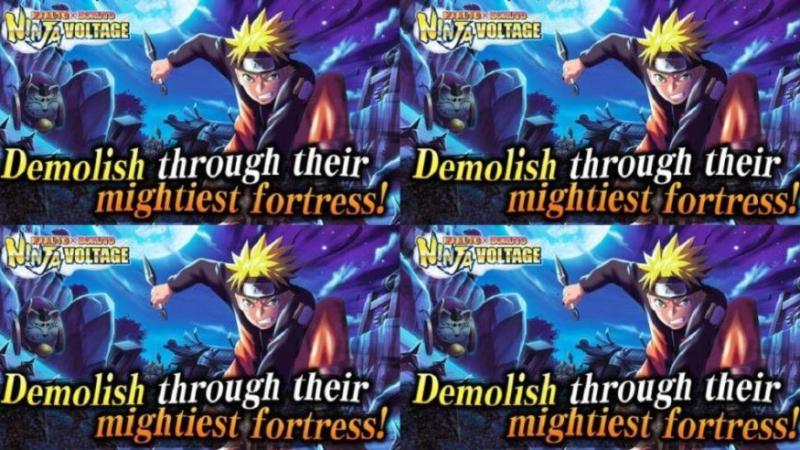 Games Mobile Naruto X Boruto Ninja Voltage Dirilis