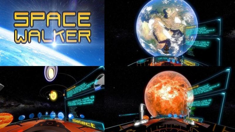 Spacewalker, Simulator VR Ruang Angkasa