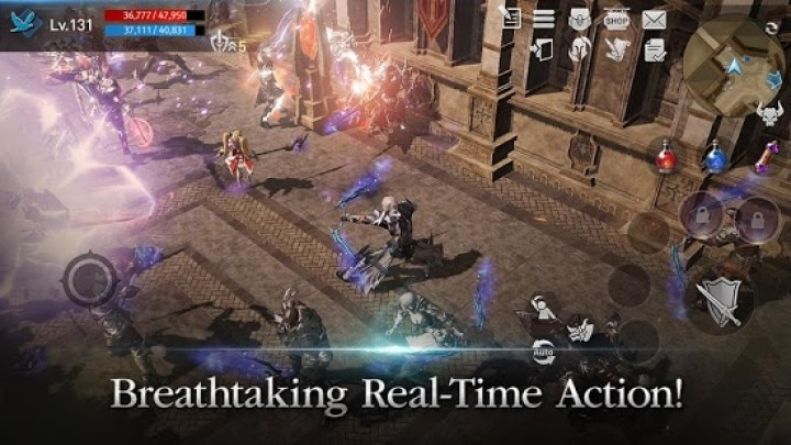 Aksi Real Time Lineage2 Revolution