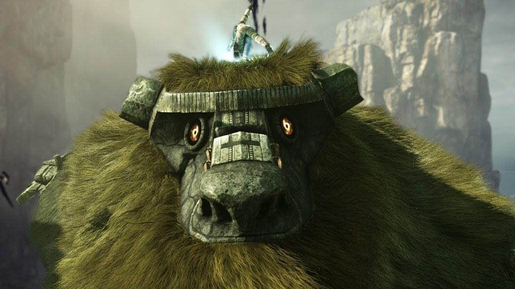 Colossus Shadow of the Colossus PS4