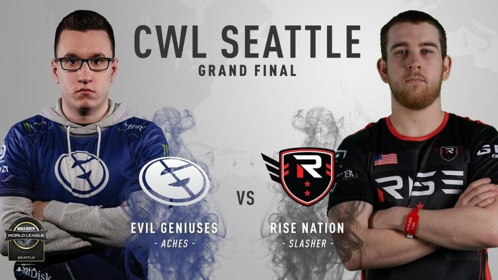 Rise Nation vs EG Grand Final CWL Seattle Open 2018