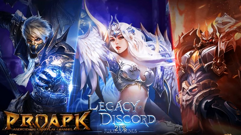 Legacy Of Discord: Game RPG Mobile yang Super Epic!