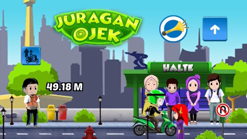 Juragan Ojek, Game Ojek Online Asli Indonesia