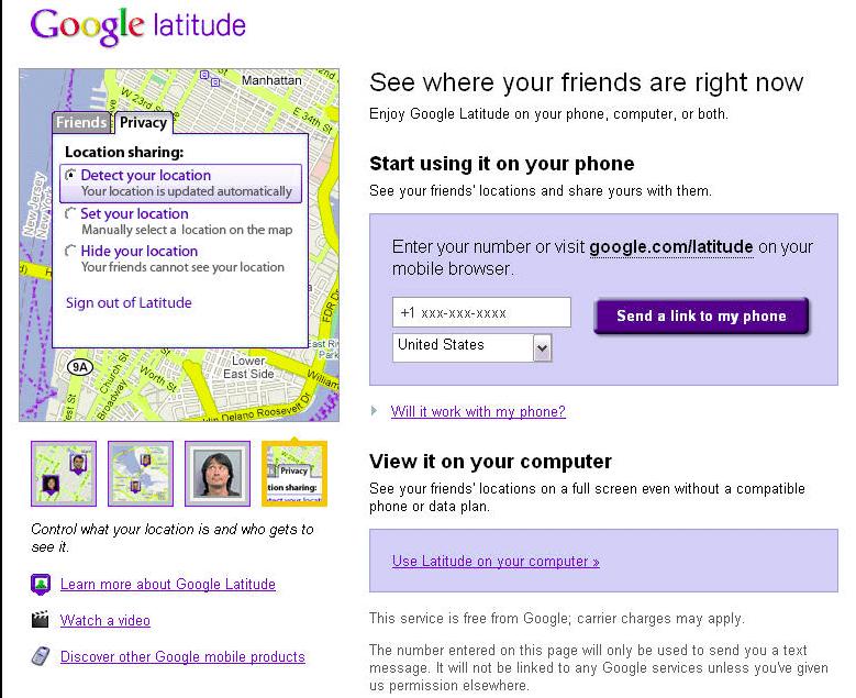 Cara Melacak HP Yang Hilang Google-Latitude