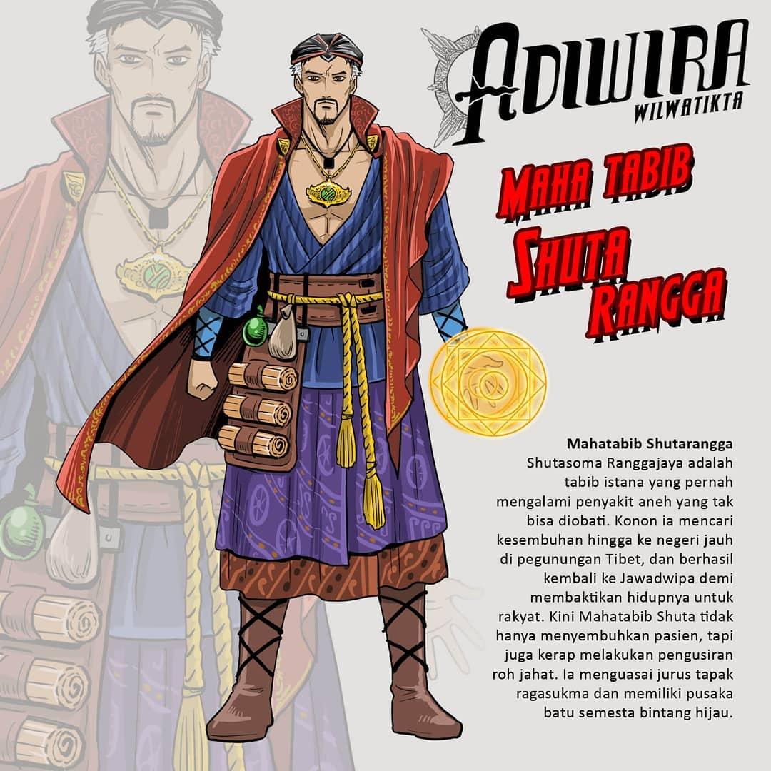 Karakter Avengers Endgame Mahatabib Shutarangga