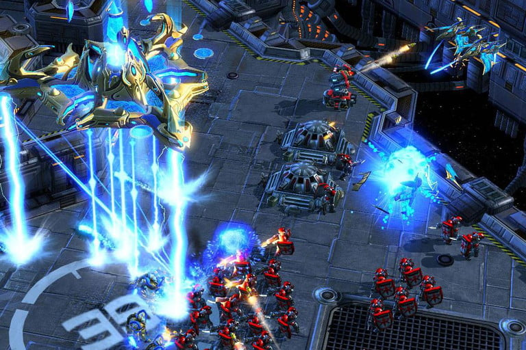 game gratis StarCraft II: Wings of Liberty