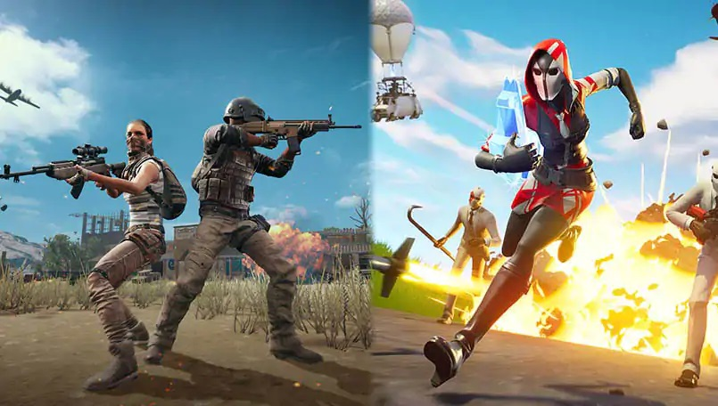 Perbandingan Kontrol PUBG Mobile vs Fortnite